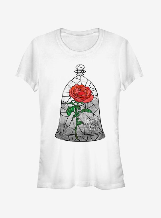 Disney Stained Rose T Shirt SR01