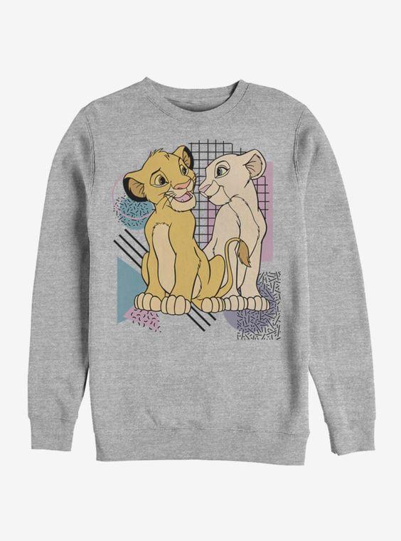 Disney The Lion King Nostalgia Sweatshirt FD01
