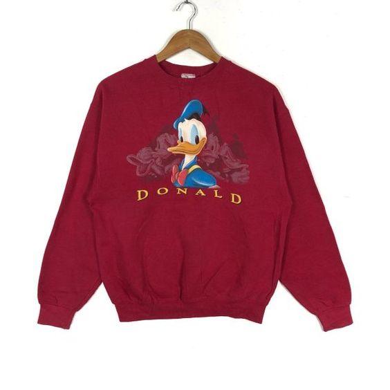 Donald Duck Walt Disney Sweatshirt FD01