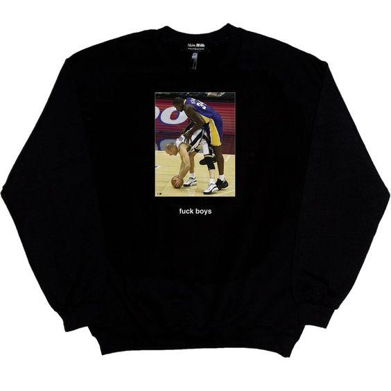 FUCK BOYS sweatshirt ER01
