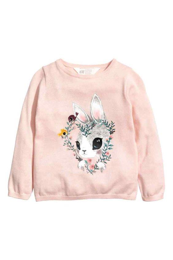 Flower Rabbit Sweatshirt EL01