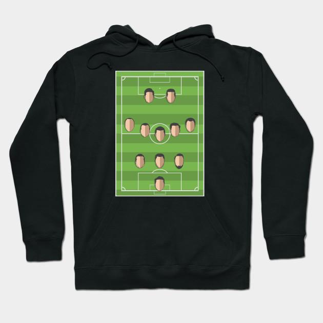 Football Formation Sport Hoodie EL01