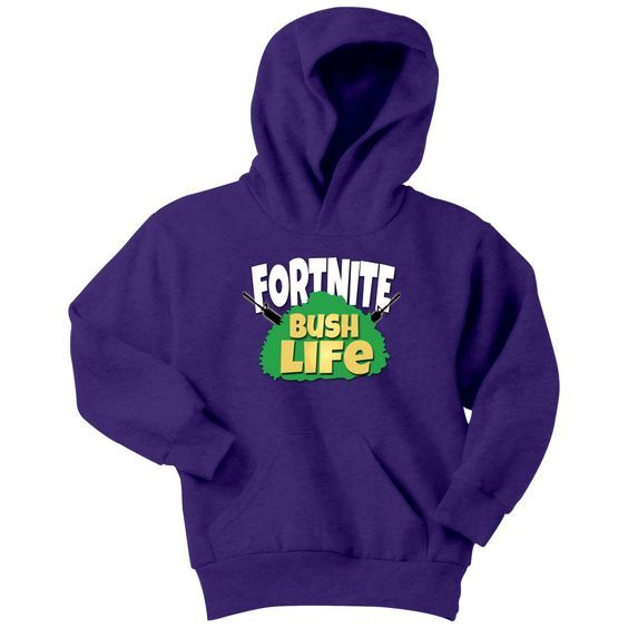Fortnite Bush Life Hoodie SR01
