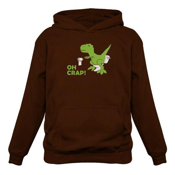 Funny Dinosaur Dino Hoodie EL