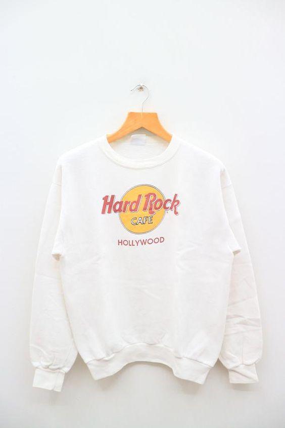 HARD ROCK CAFE Sweatshirt FD30