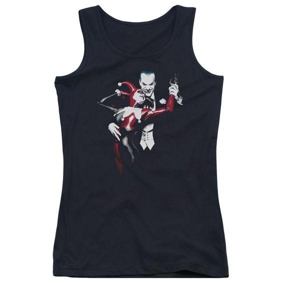 Harley And Joker Juniors Tank Top DV01