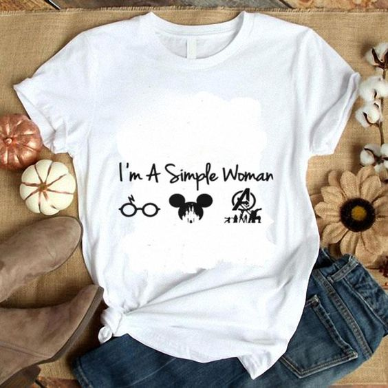 I'm a simple woman T-shirt AI01