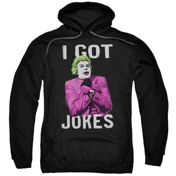 I Got Jokes Joker Adult Hoodie DV01