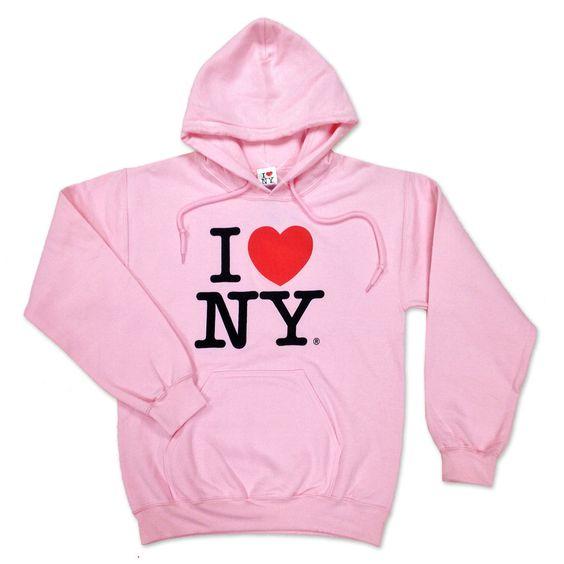 I Love NY Hoodie EM