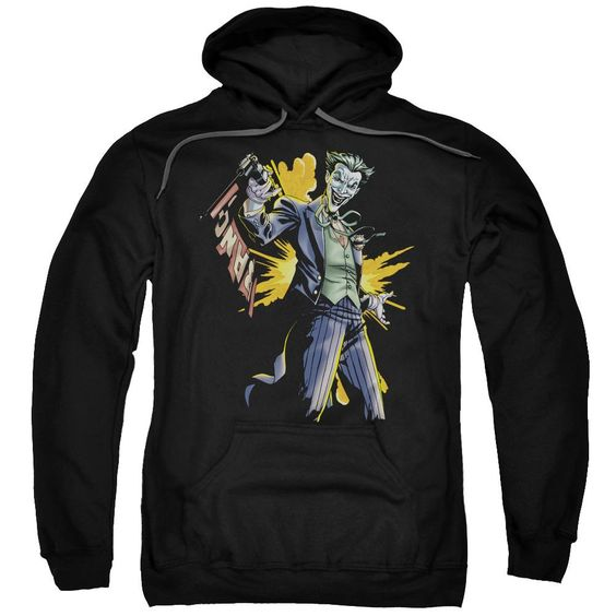 Joker Bang Adult Pull Over Hoodie DV01