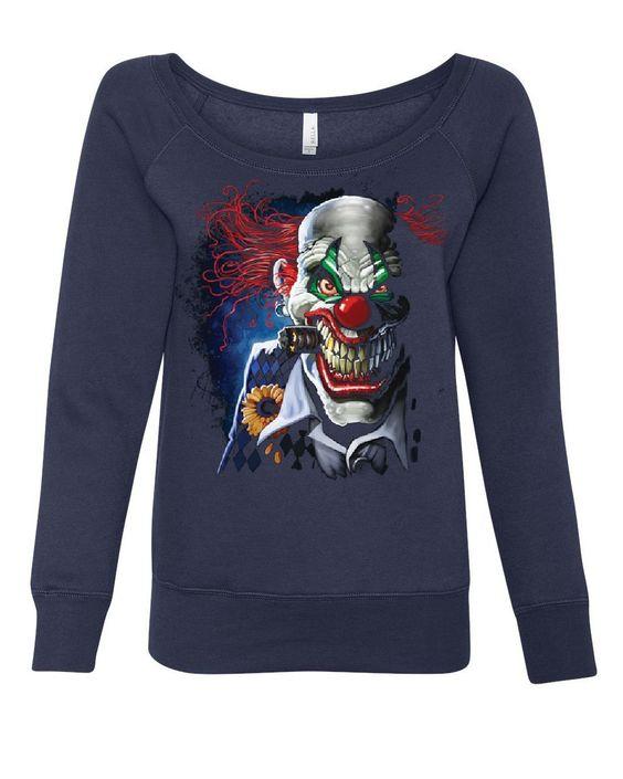 Joker Clown Sweatshirt DV01