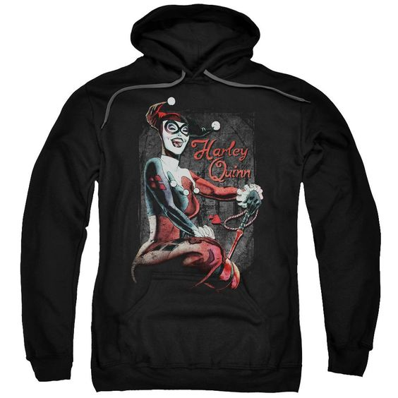 Joker Laugh It Up Adult Pull Over Hoodie DV01