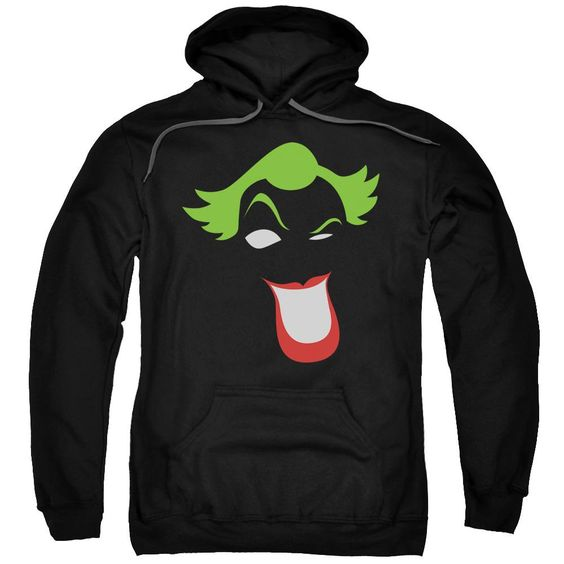 Joker Simplified Adult Pull Over Hoodie DV01