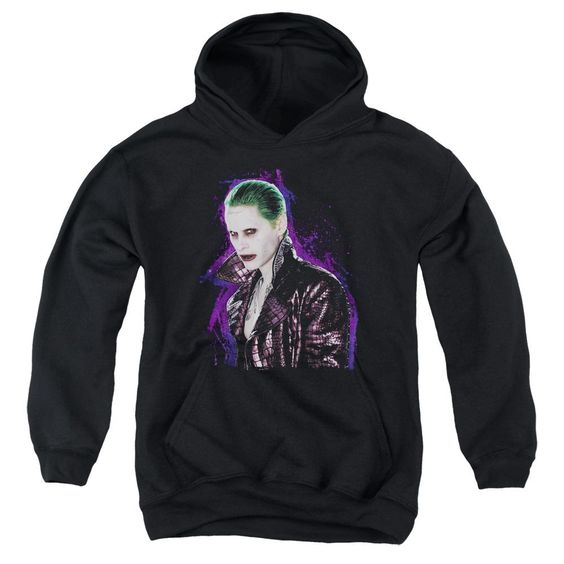 Joker Stare Youth Pull Over Hoodie DV01