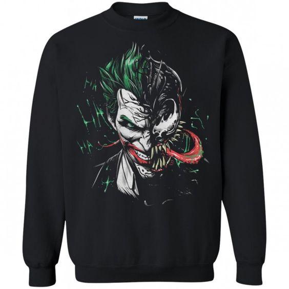 Joker Venom mashup Sweatshirt DV01