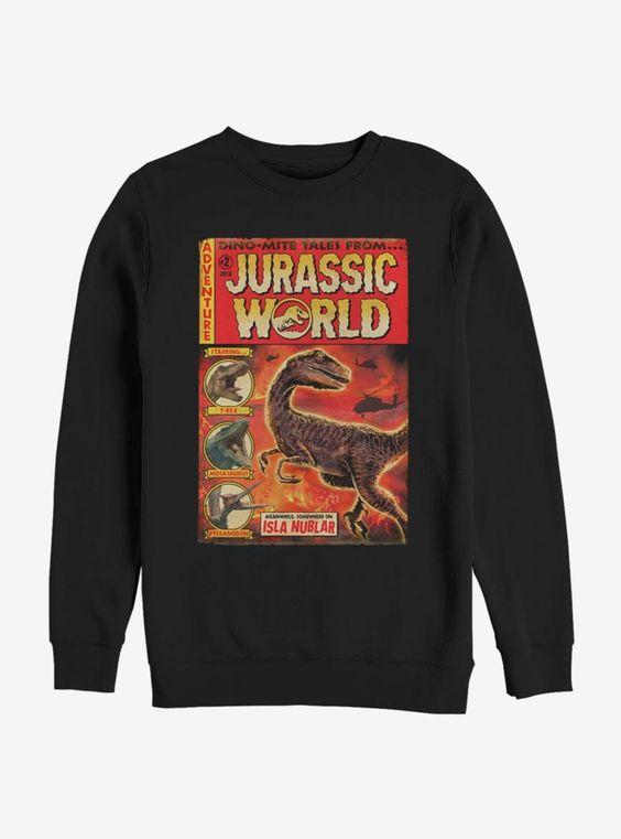 Jurassic World Dino Mite Tales Sweatshirt EL