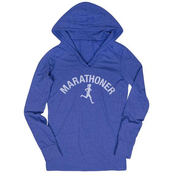 Marathoner Girl Hoodie AZ29