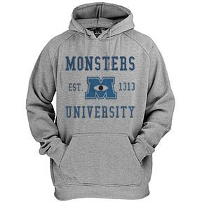 Monsters University Hoodie FD