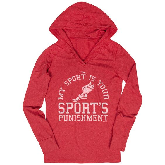 My Sport Is Your Sports Punishment Hoodie EL01