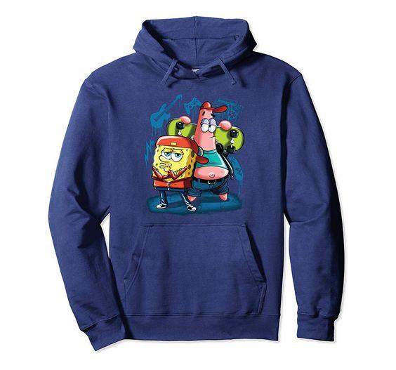 Punk Rock Spongebob Hoodie SR01