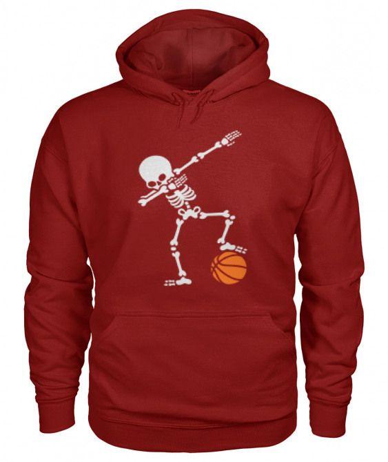 Skeleton Basketball Hoodie EL01