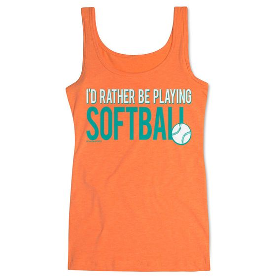 Softball Athletic Tank Top EL01