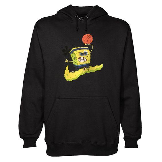 SpongeBob Basketball Hoodie SR01