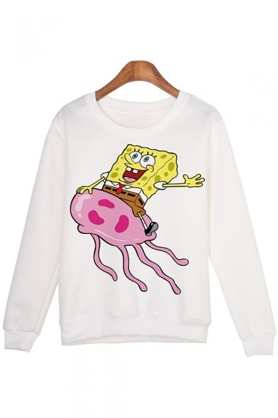 SpongeBob Cartoon Printed Sweatshirt SR01