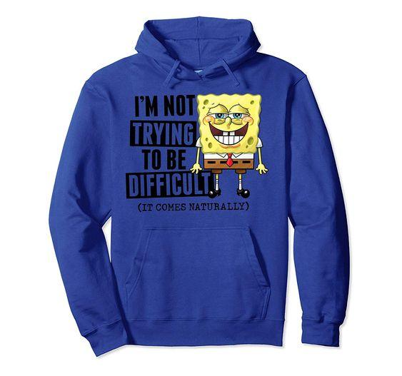 SpongeBob difficult Hoodie SR01