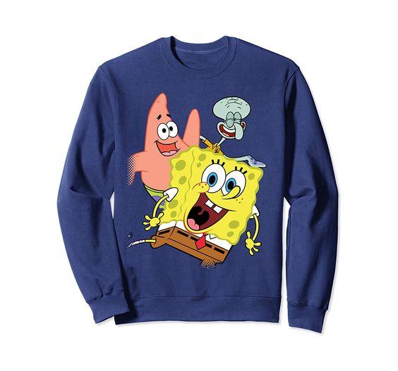 Spongebob And Friends Sweatshirt SR01