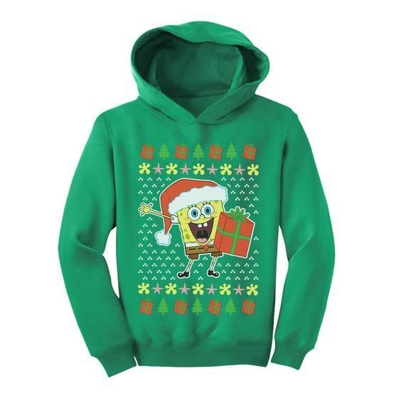 Spongebob Christmas Hoodie SR01