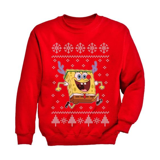 Spongebob Christmas Sweatshirt SR01