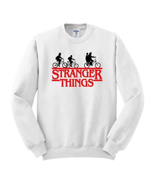 Stranger Things Bike Sweatshirt AV01