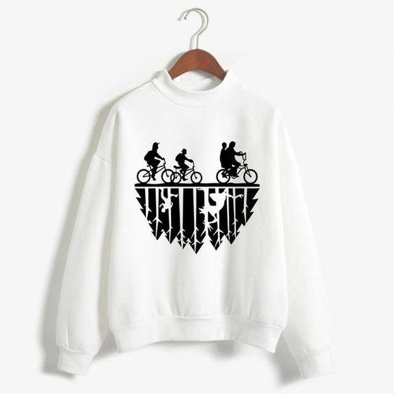 Stranger Things Printed Sweatshirt AV01