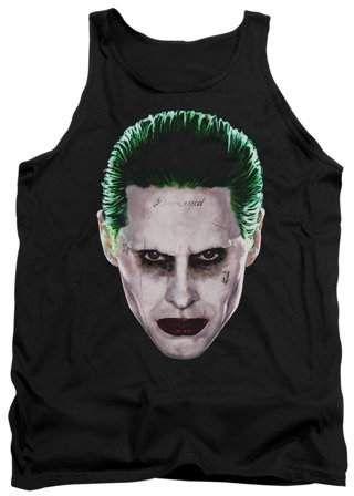 Suicide Joker Damaged Tank Top DV01