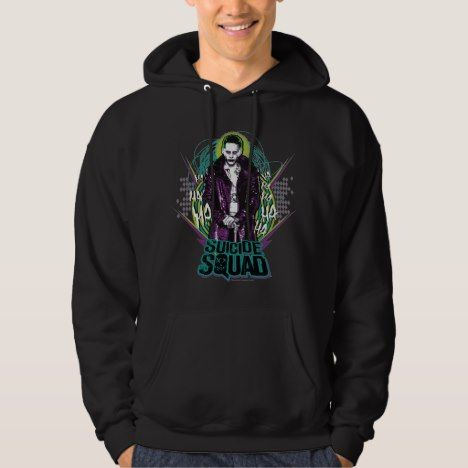 Suicide Joker Retro Rock Graphic Hoodie DV01