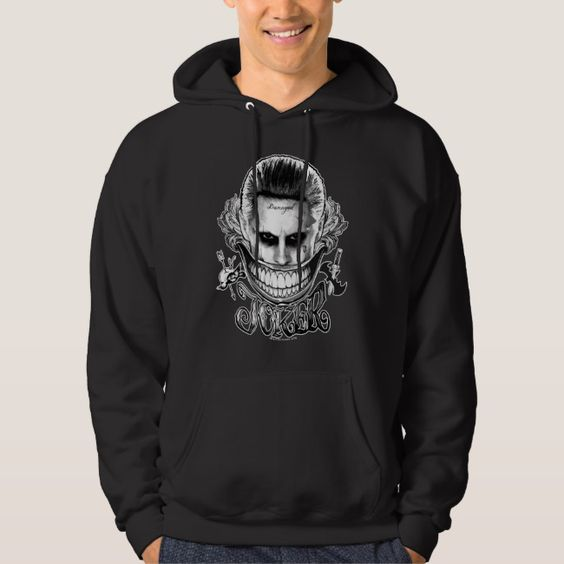 Suicide Squad Joker Smile Hoodie DV01