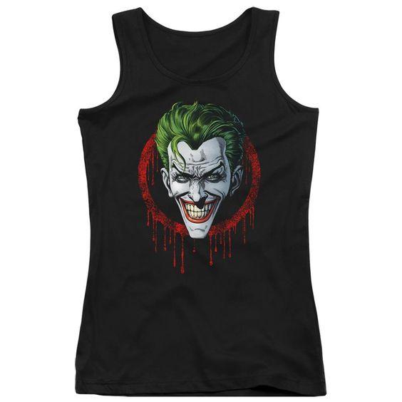 Tank Top Joker Drip Black DV01