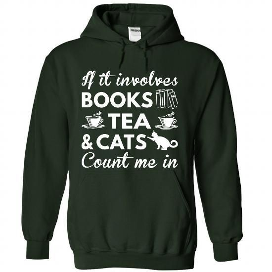 Tea And Cat Hoodie SR