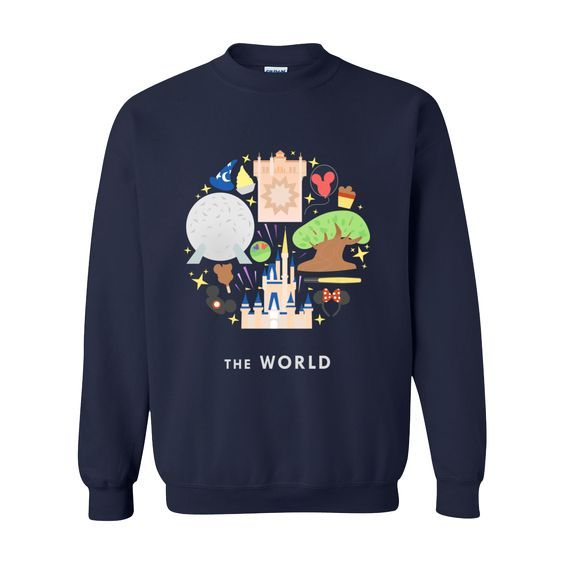 The World Sweatshirt FD01