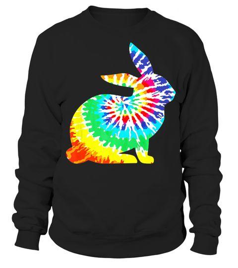 Tie Die Rabbit Sweatshirt EL01