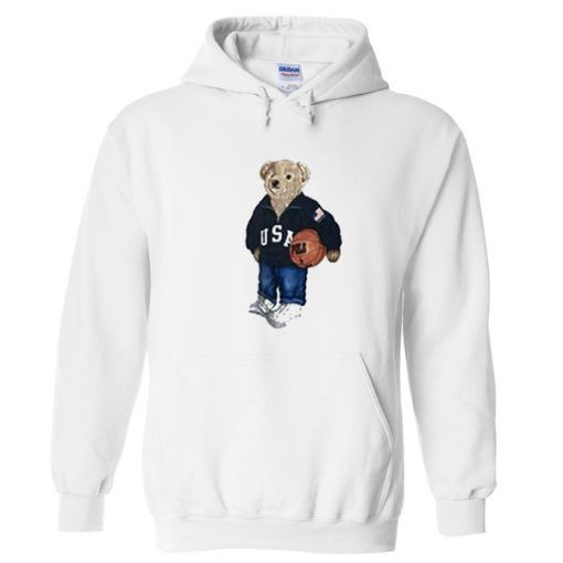 USA Teddy Bear Hoodie AV01