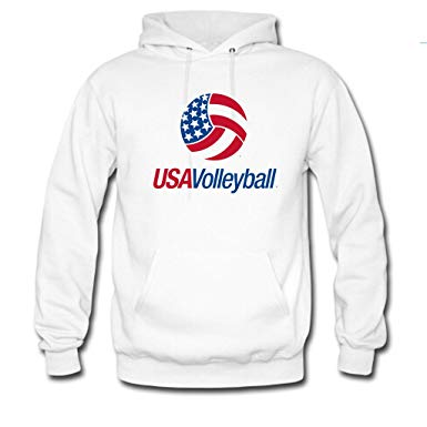 USA Volleyball Hoodie EL01