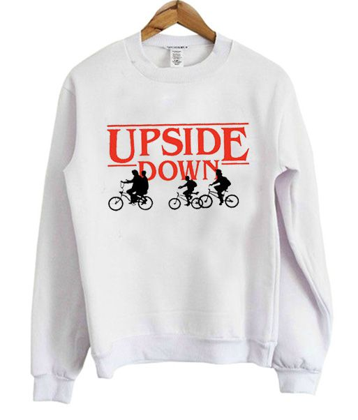 Upside Down Stranger Things Sweatshirt AV01