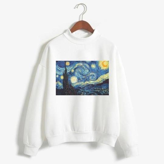Van Gogh Printed Sweatshirt DV