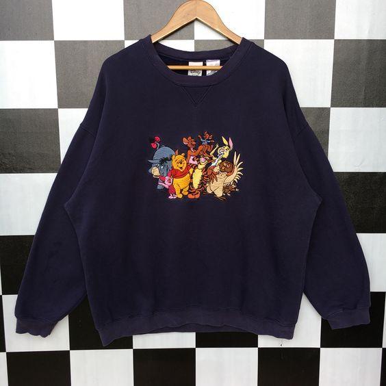 Vintage Winnie The Pooh Sweatshirt FD01