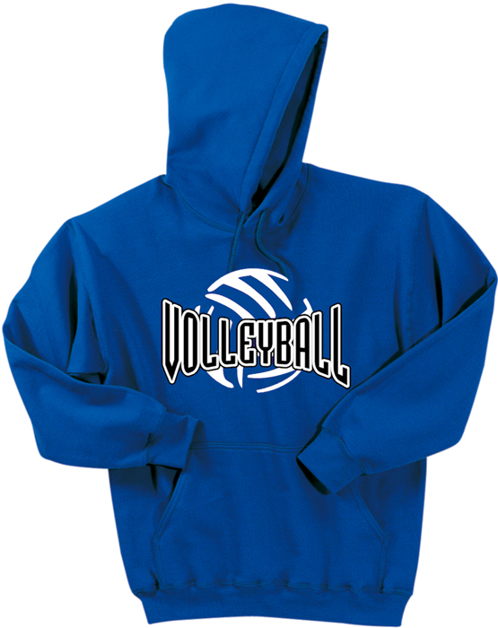 Volleyball Abstract Ball Hoodie EL01