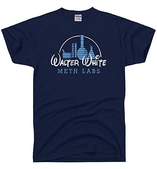 Walter white Disney T Shirt SR01