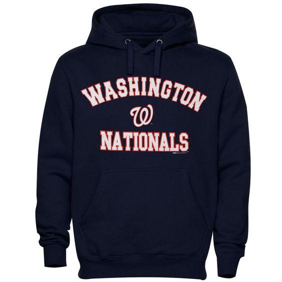 Washington Nationals Stitches Fastball Hoodie AV01