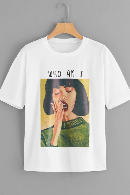 Who Am I Tee Shirt FD30